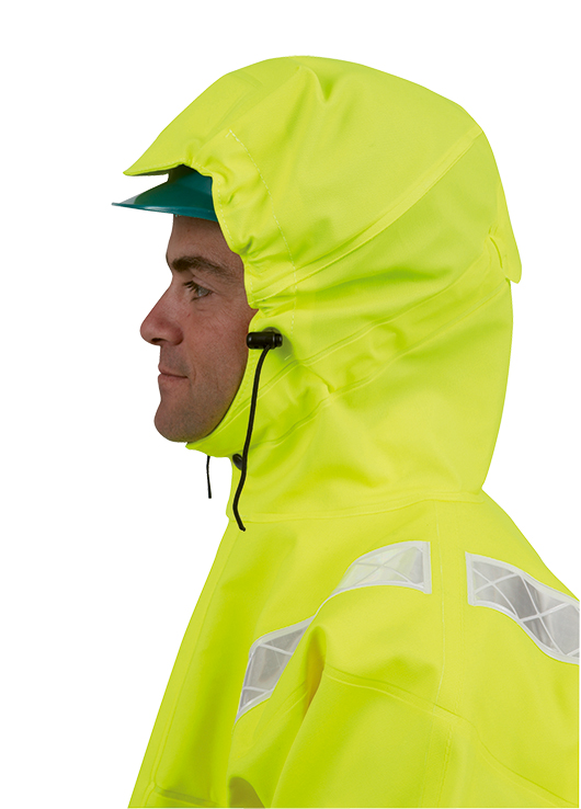 ISOFLASH JACKET ISOLATECH HI VIS