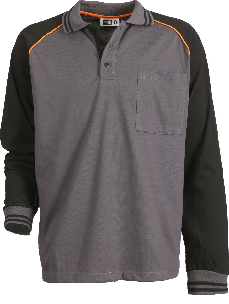 LONG SLEEVES WORK POLO SHIRT CARBONE RANGE