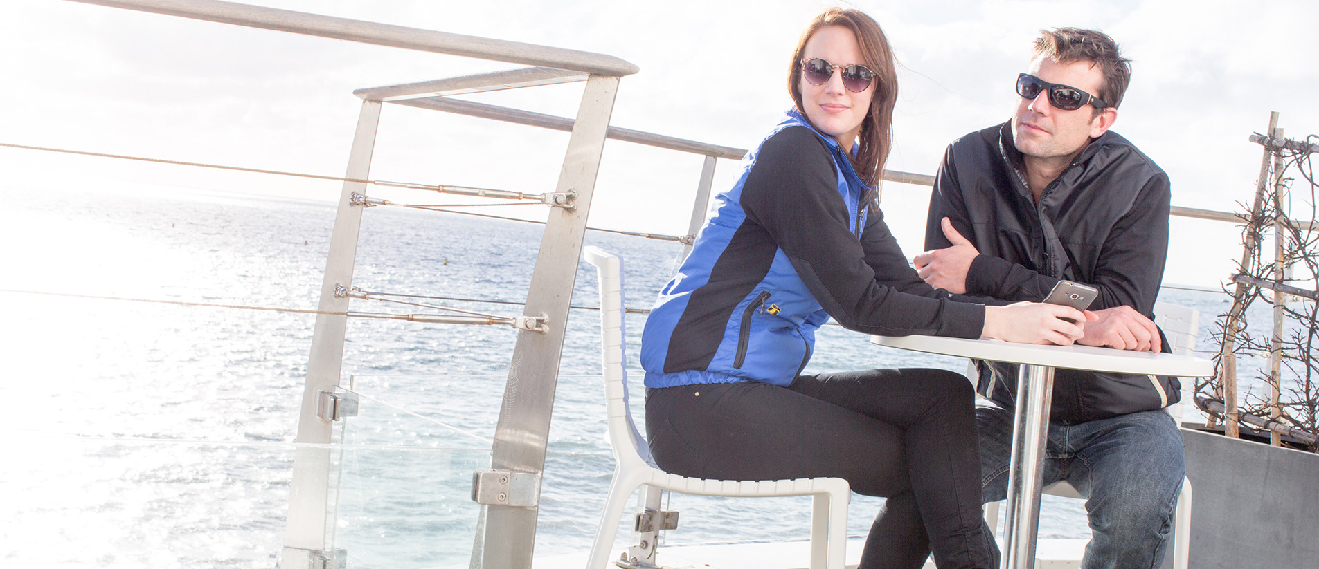 Cirés et vêtements pour les professionnels de la mer